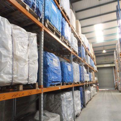 Bulk bags ready for dispatch