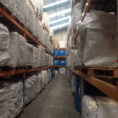 Bulk bag warehouse